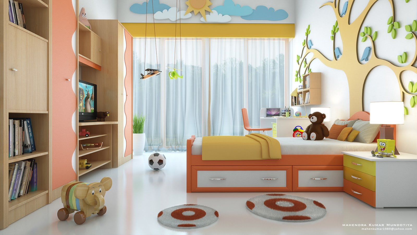 8 rules for designing a kid's room - russiansitters